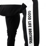 side view of GLB jogger pants